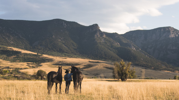 Canyon Ranch, Big Horn, WY, USA, 2017.