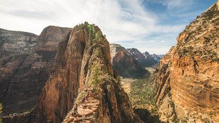 Angel's Landing, Zion National Park, Utah, USA, 2018.