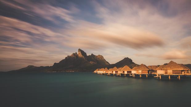 Bora Bora, French Polynesia, 2017.