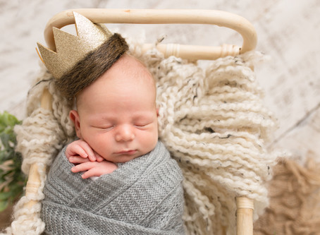 Landon {Clarks Summit, PA Newborn Photography}