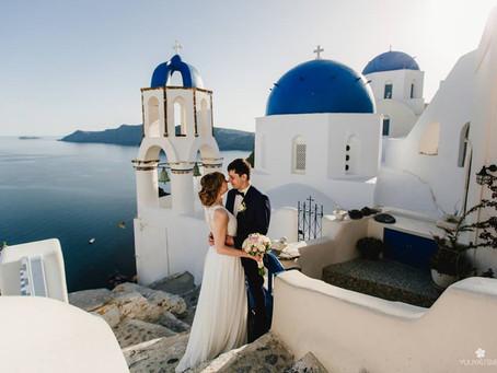 Важный пост для всех, кто задумывается о свадьбе на Санторини.