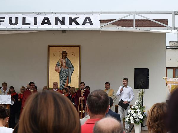 Pri návšteve veriacich z chorvátskej farnosti v meste Malinska-Dubašnica spolu s Vdp. otcom Antonom prišlo v roku 2016 asi štyridsať veriacich z tamojšieho spoločenstva na pozvanie Obce Fulianka. Program pred a po slávnostnej bohoslužbe moderoval M.R., jeden z neskorších členov o. z. Dubravka-Mlyn...