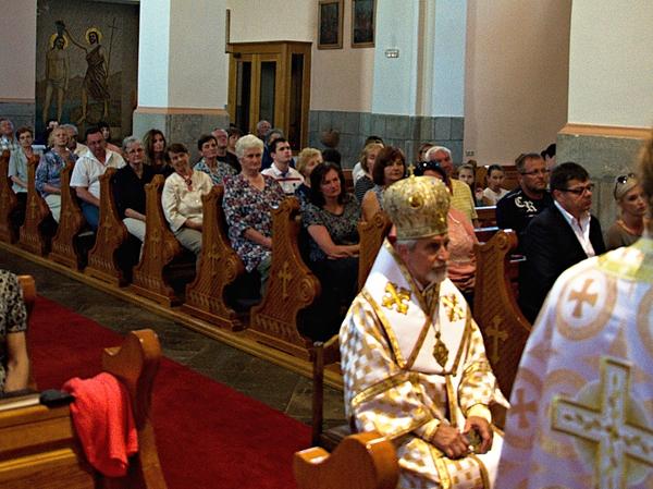 Na druhý deň, 11.5.2019 viedol slávnostnú archijerejskú sv. liturgiu slovenský gréckokatolícky biskup Mons. Milan Chautur CSsR...