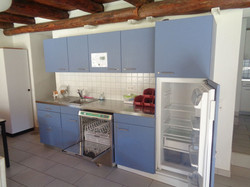 cucina blu refettorio