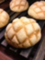 寿雀卵のメロンパン