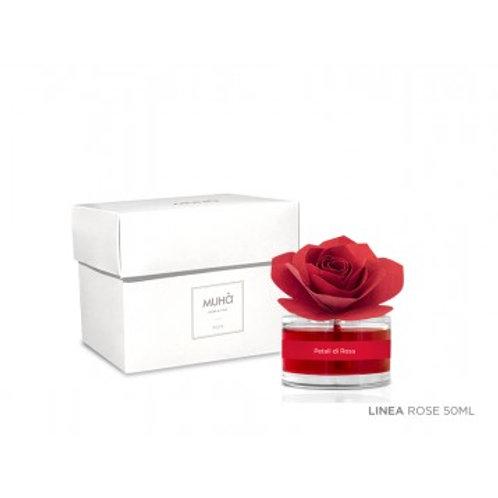 Diffusore rosa 50 ml Red Rose | Muhà | L'opale Bergamo
