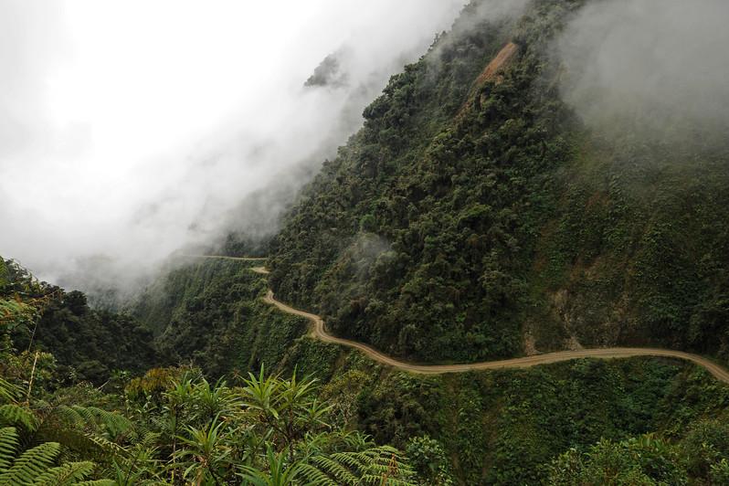La Paz - Coroico road