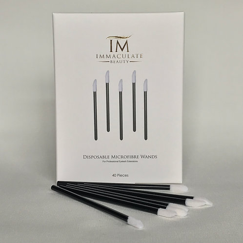 Disposable Microfiber Wands