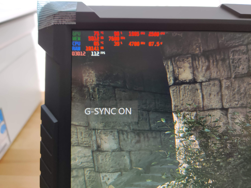 G Sync enable on G Story monitor