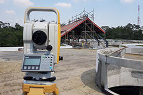 Survey with total station