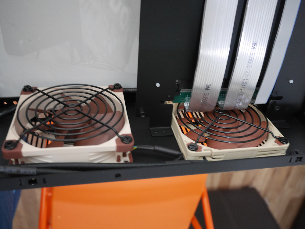 DAN A4 with exhaust fans