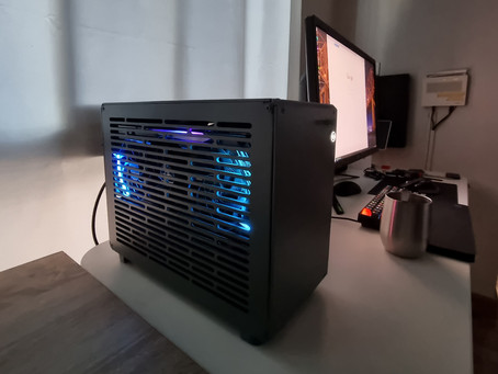 Aorus RTX 3090 Xtreme in Gecko L case
