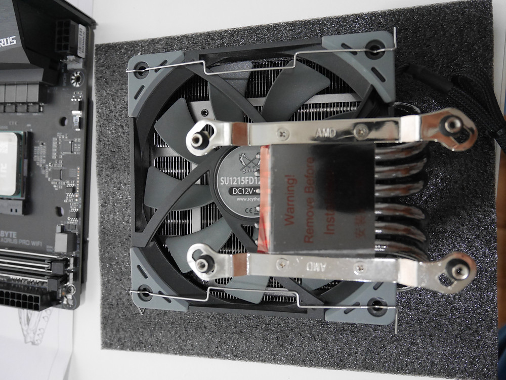 ฺBlack Ridge with 120mm fan