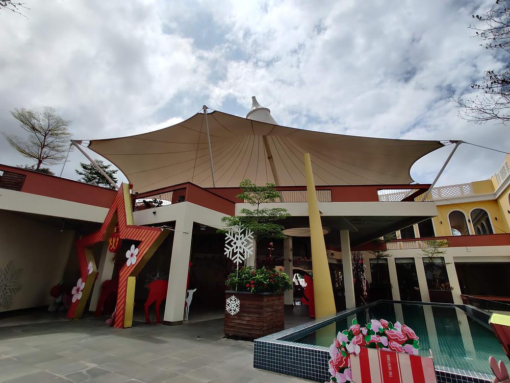 Tensile Structure - Heritage Walk Cambodia