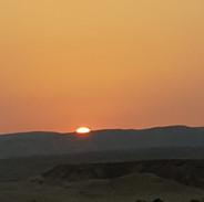 Desret Biking Sunset