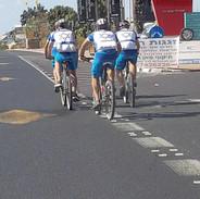 Strong Riders Aproaching Tel Aviv