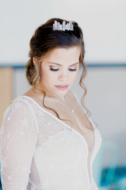 A unique bridal accessory