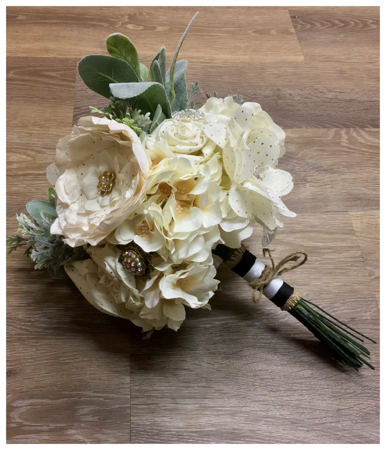"Our ""freshly picked"" bouquet"