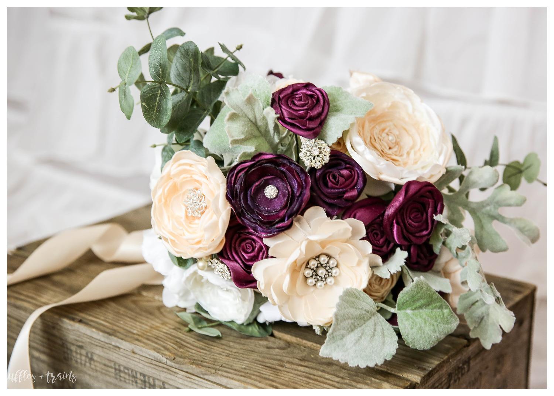 """BoHo style """"freshly-picked"""" bouquet"""