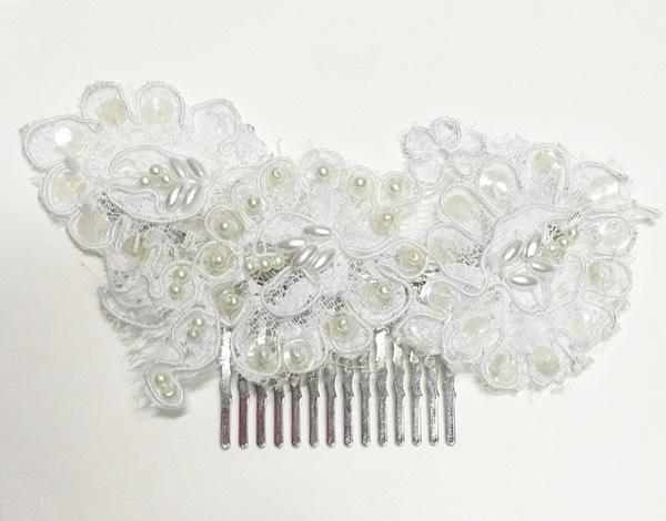 Vintage lace comb