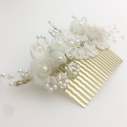 Comb made from mother's veil