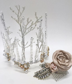 Handwired GLASS crown