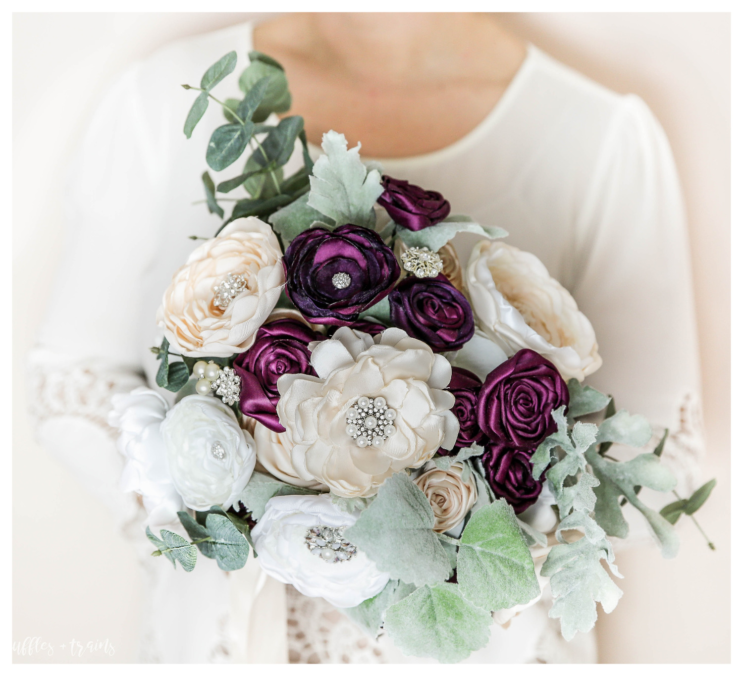 "BoHo Style ""Freshly-Picked Bouquet"