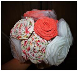 Handmade flower cluster