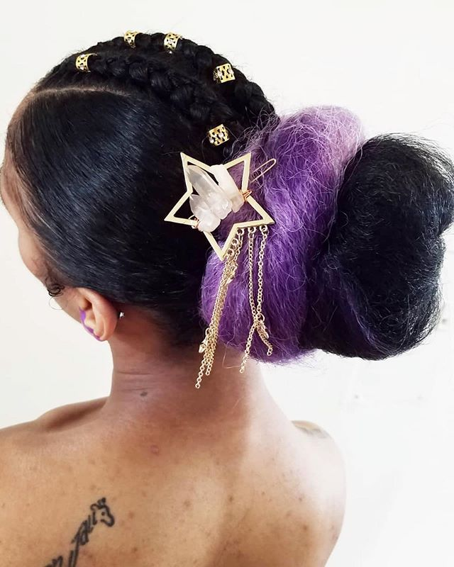 Starry hairpiece