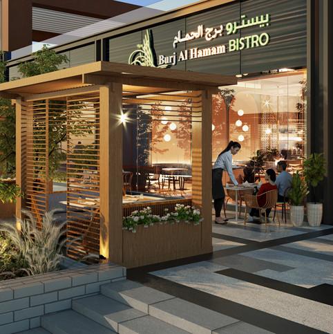 Burj Al Hamam Bistro Dubai - Casual Libanese bistro