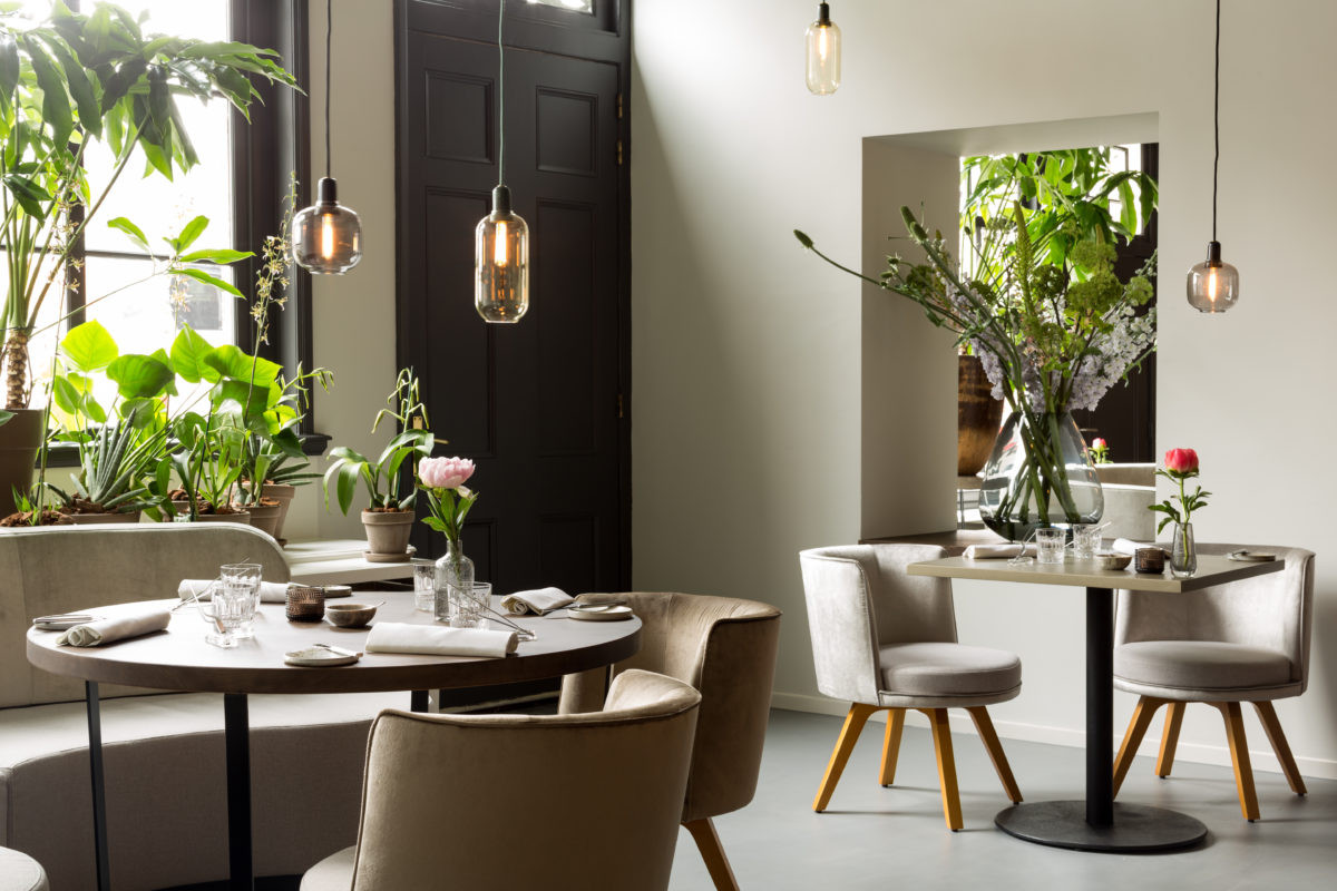 NH Collection Barbizon Palace Amsterdam Restaurant Vermeer - Michelin-star restaurant with vegetable focus