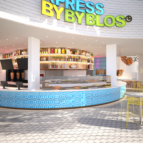 Byblos Express - Lebanese premium fast good restaurant