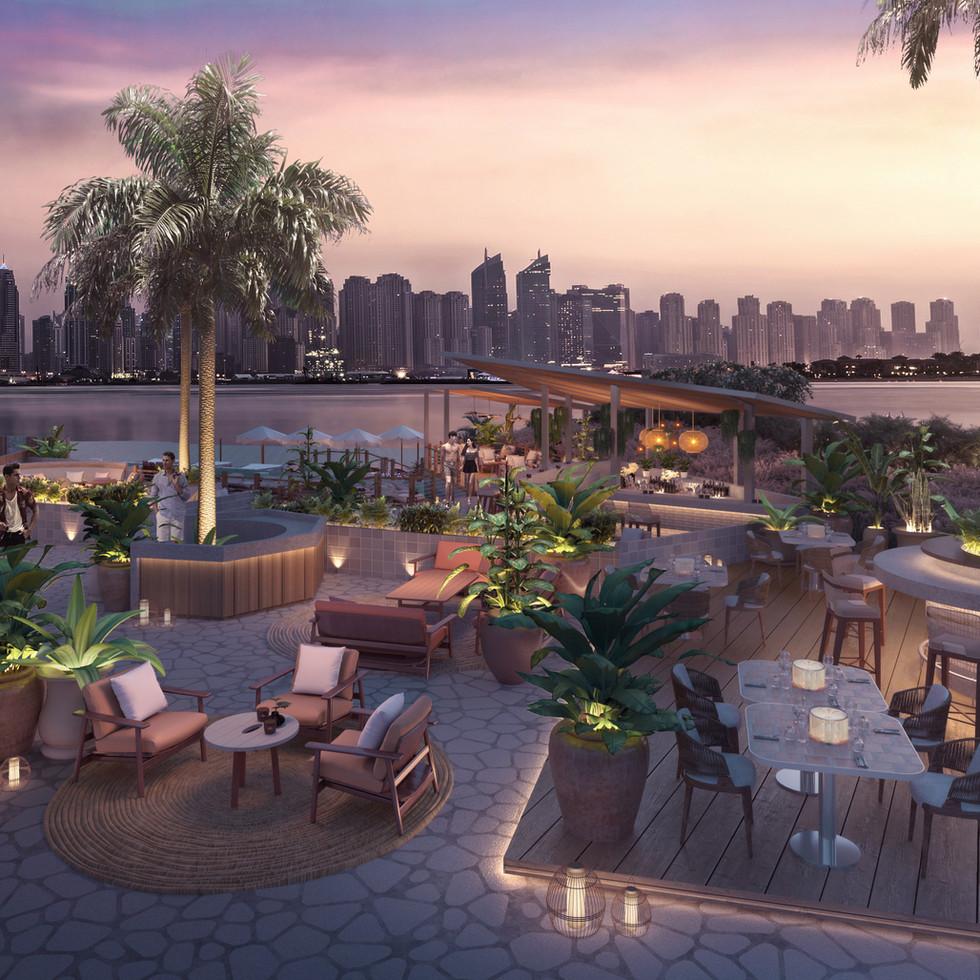 St. Regis - Beach club Dubai