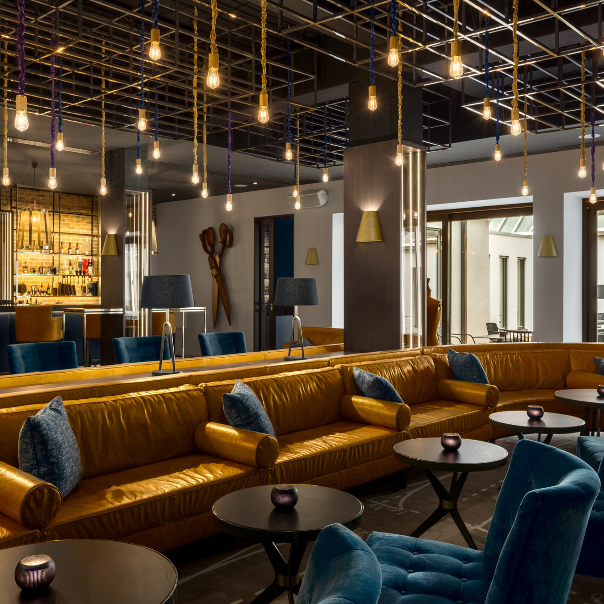 NH Collection Grand Hotel Krasnapolsky The Tailor - Large cocktail bar