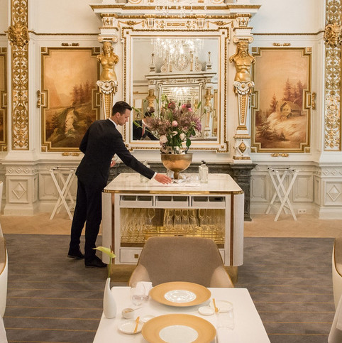NH Collection Grand Hotel Krasnapolsky Amsterdam The White Room - Michelin-star restaurant in cooperation with chef Jacob Jan Boerma