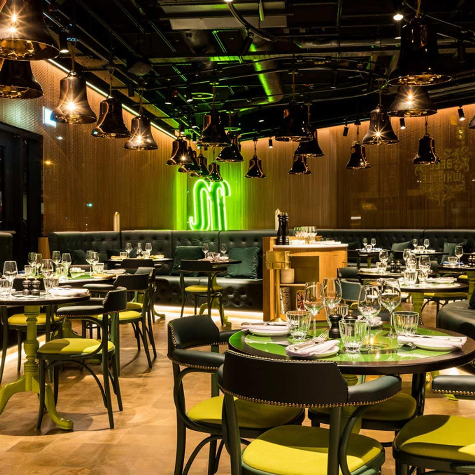 NH Nhow London Bell & Whistle restaurant - Contemporary British pub and restaurant