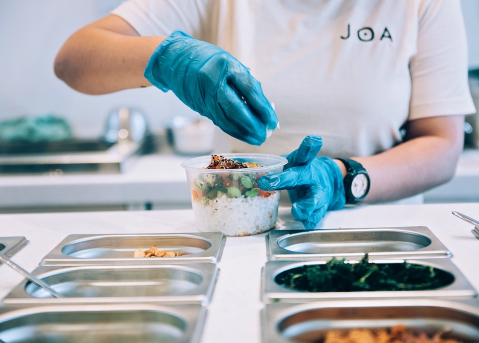 JOA - Hawaiian and Japanese inspired quick service fast good restaurant