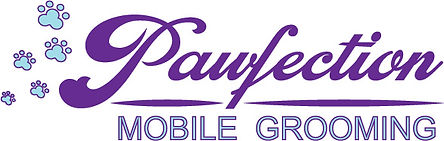 Pawfection Mobile Pet Grooming Logo