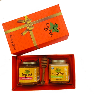 Ivyees Raw Honey Gift Set