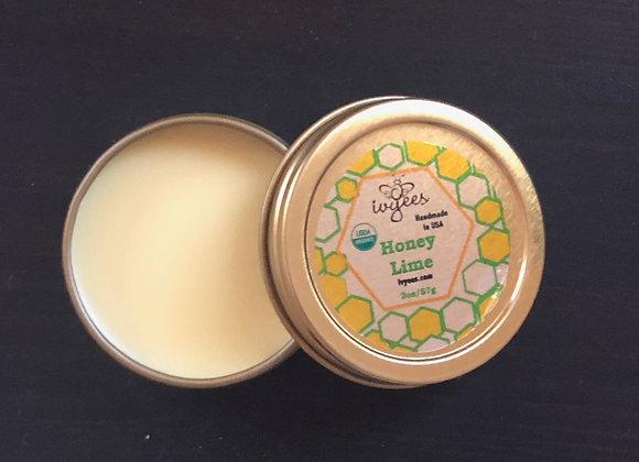 Ivyees Raw Honey Lime Lip Balm