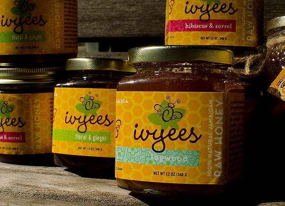 Ivyees Raw Honey Super Bundle