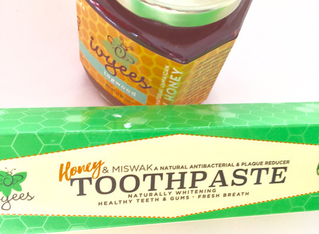 Honey in toothpaste? Sounds weird.....