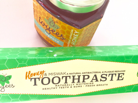 Honey in toothpaste? Sounds weird.....