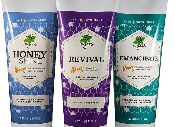 """Honey Shine"" + ""Revival"" + ""Emancipate"" Bundle"