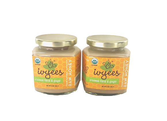 Ivyees Creamed Floral & Ginger Bundle