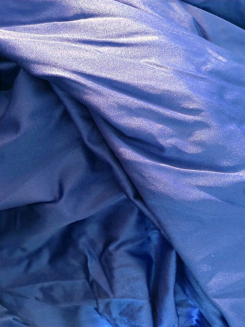 kiiltävä sininen lycra