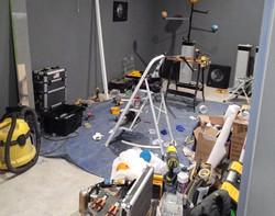 construction décor salle de contrôleDijon