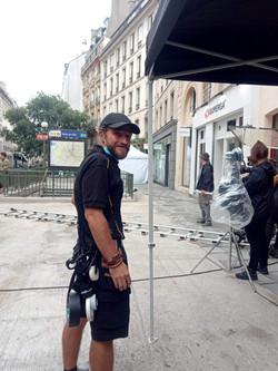 on set Paris, 6/2021