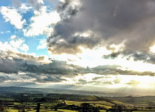 Looking down onto th Eden Valley from Stainmore