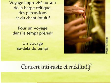 Concert intimiste et méditatif